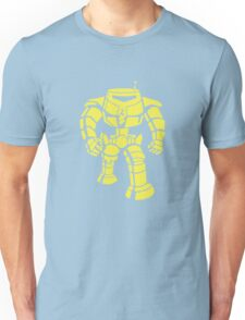 Manbot - Plain Blue Colour Variant Unisex T-Shirt