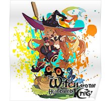 The Witch And The Hundred Knight Splatter Poster