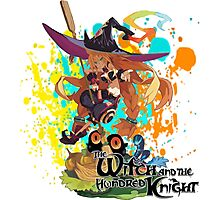 The Witch And The Hundred Knight Splatter Photographic Print