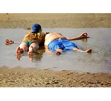 Life's a Beach ~ Relax and Enjoy It Photographic Print