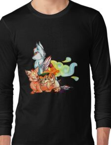 Okami: The Wolves Of The Brush Long Sleeve T-Shirt