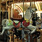 Vintage Carousel by Karen E Camilleri