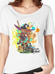 The Witch And The Hundred Knight Splatter Women's Relaxed Fit T-Shirt