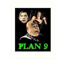 VAMPIRA PLAN 9 Art Print