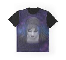 Woman In Black Graphic T-Shirt