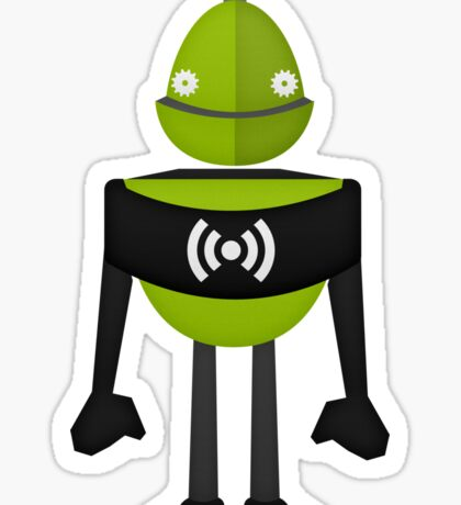Robot Character #24 Sticker