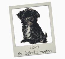 I love the Bolonka Zwetna Kids Tee