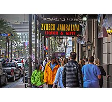 On The Street In The Big Easy Photographic Print