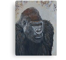 Leader of Gorilla Group Canvas Print