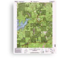 USGS TOPO Map California CA Camptonville 100595 2000 24000 geo Canvas Print
