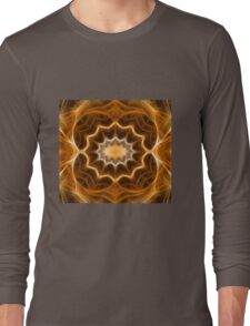 Fractal abstract color pattern Long Sleeve T-Shirt