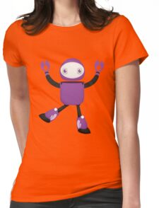 Robot Character #50 Womens Fitted T-Shirt