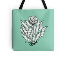 The Bloom of Okra Tote Bag