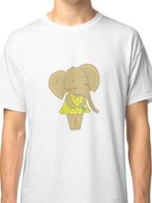 Cute elephant girl Classic T-Shirt