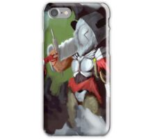 Horns and Masks: Knight iPhone Case/Skin