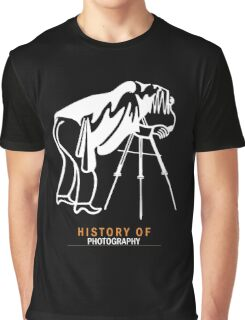 History of Photography - Photographer Gifts & Merchandise Graphic T-Shirt