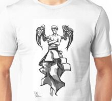 Angel or demon - you'll neber know Unisex T-Shirt