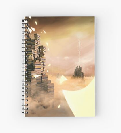 Writers Fantasy - Storm Spiral Notebook