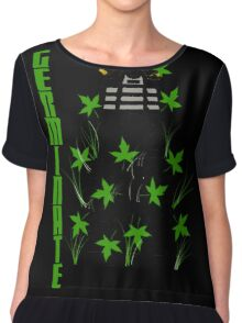 Germinate - Dr Who Chiffon Top