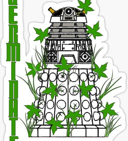 Germinate - Dr Who Sticker