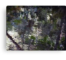 Camouflage Ripples Canvas Print