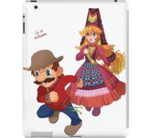 Udmurt Mario and Peach iPad Case/Skin
