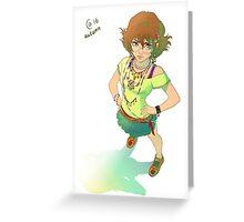 Voltron - Pidge Greeting Card