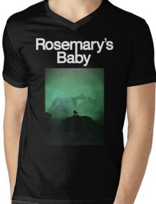 Rosemary's Baby Shirt! Mens V-Neck T-Shirt