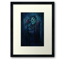 ZombieSupes Framed Print