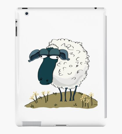 An Indifferent Sheep iPad Case/Skin