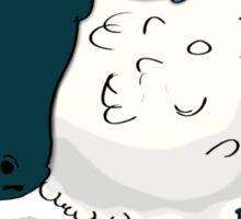 An Indifferent Sheep Sticker