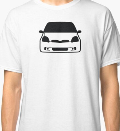 JDM sticker & Tee-shirt - Car Eyes Yaris TS Classic T-Shirt