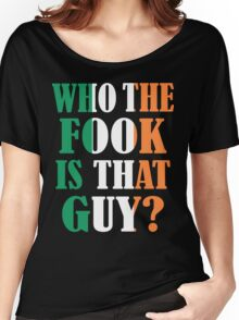 who irish Women's Relaxed Fit T-Shirt