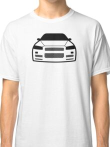 JDM sticker & Tee-shirt - Car Eyes GTR R34 Classic T-Shirt