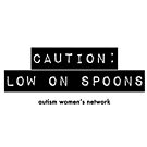 Caution: Low on Spoons by ShopAWN