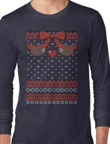 A Lazy Winter Sweater Long Sleeve T-Shirt