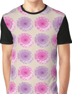 Pink and purple gerber flowers i Graphic T-Shirt