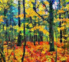 Autumn Wood - painted by PhotosByHealy