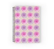 Pink and purple gerber flowers i Spiral Notebook