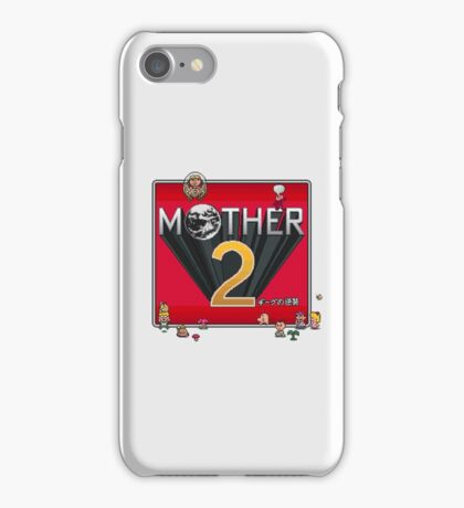 Alternative Mother 2 / Earthbound Title Screen iPhone Case/Skin
