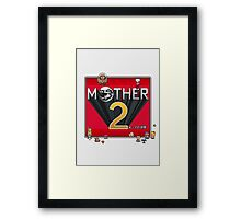 Alternative Mother 2 / Earthbound Title Screen Framed Print