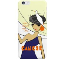 The Horoscope Series - Cancer iPhone Case/Skin