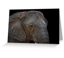 african giant Greeting Card