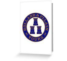 ROLLAND & PILAIN TOURS FRANCE AUTO Vintage Greeting Card