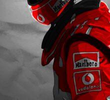 Michael Schumacher - Ferrari Sticker