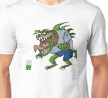 Funny Cartoon - Unimpressed Monster  Unisex T-Shirt