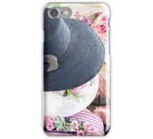 handmade hats iPhone Case/Skin