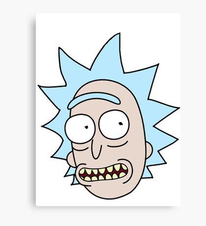 Rick Smile Canvas Print