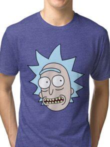 Rick Smile Tri-blend T-Shirt
