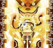 The Nine Tails Jinchuuriki by v3ana